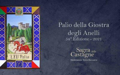Palio della Giostra degli Anelli, realizzato da Michelangelo Valenti